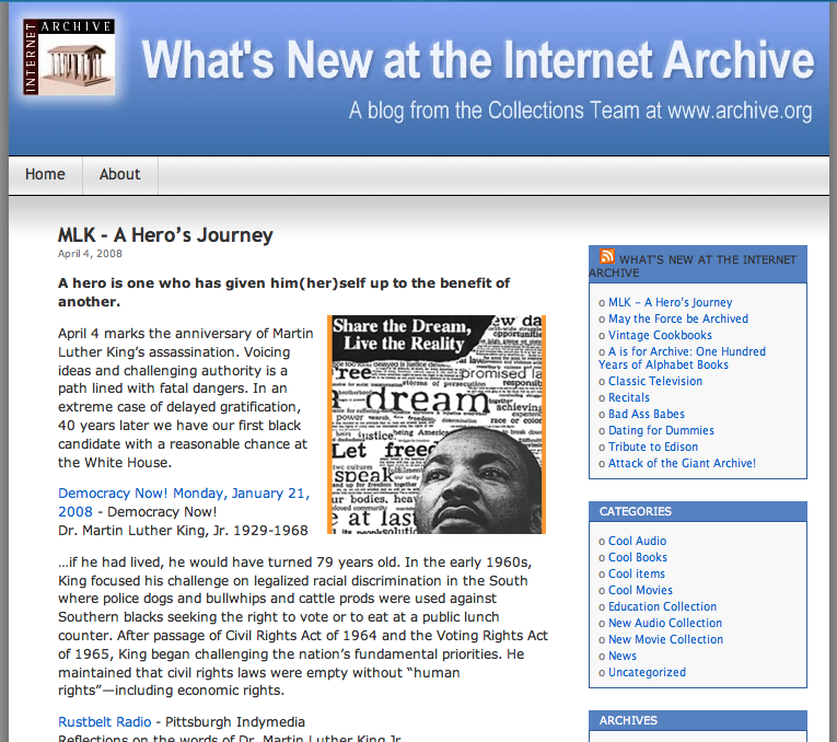 Internet Archive Blog